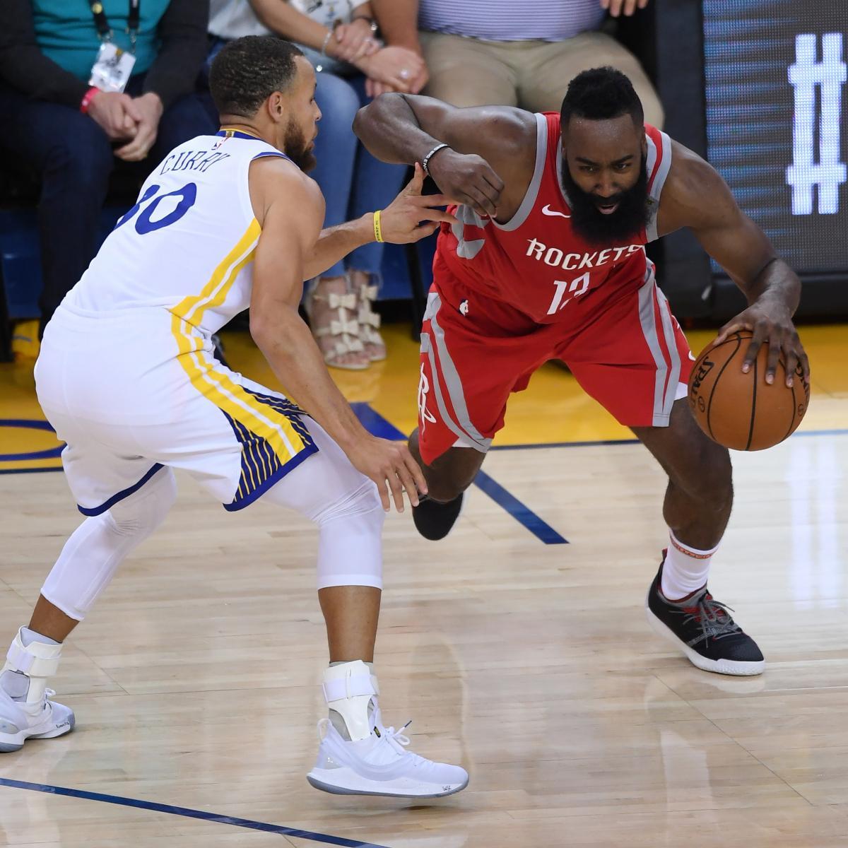 Golden State Warriors Vs Houston Rockets Live Stream 2018: Golden State Warriors Vs. Houston Rockets: Game 7 Odds