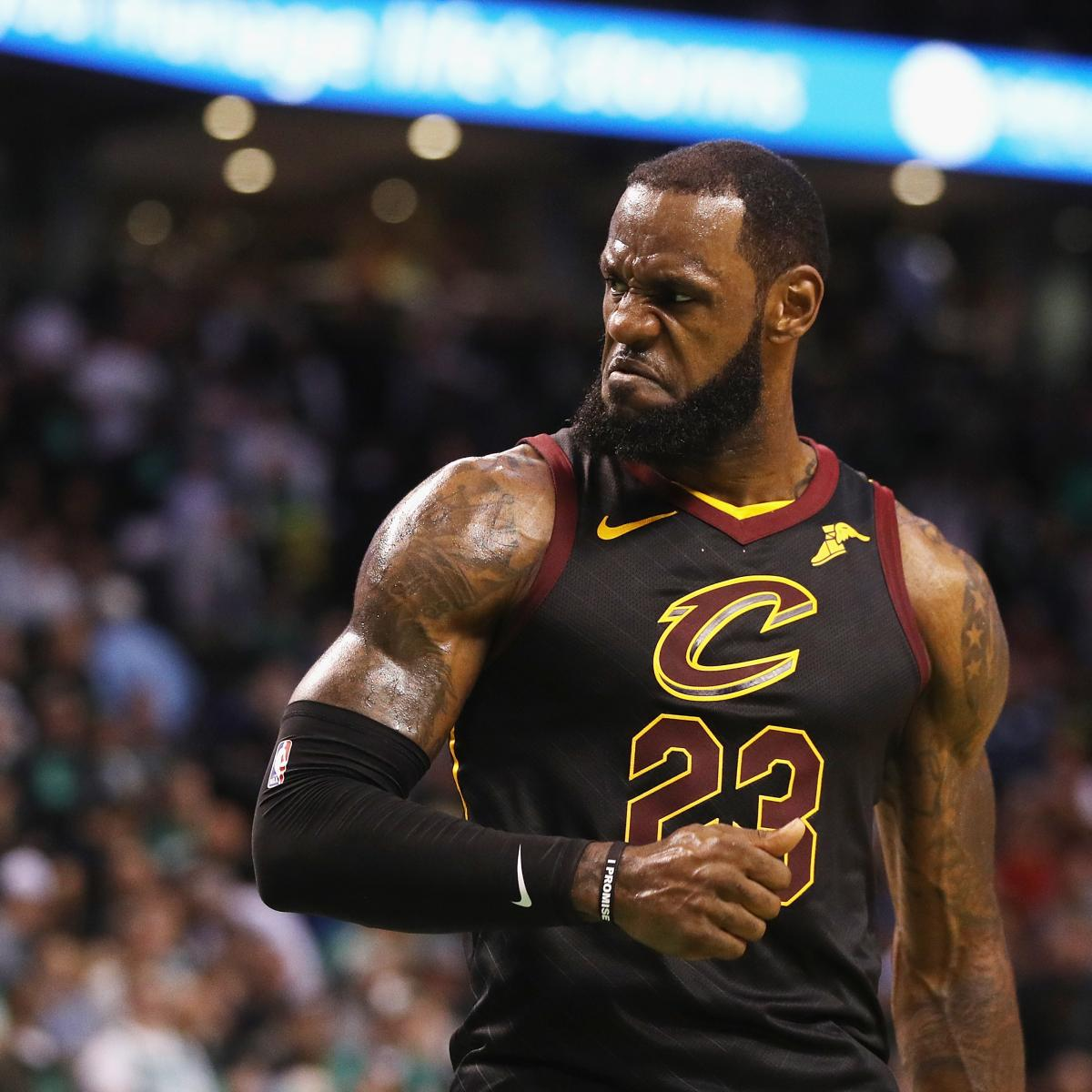 NBA Finals 2018: Dates, Game Times, TV Schedule For