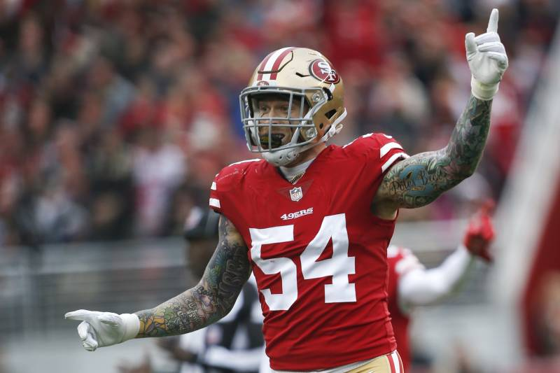 c2af0ddf8f7e9 49ers DE Cassius Marsh on Patriots   They Don t Have Fun There ...