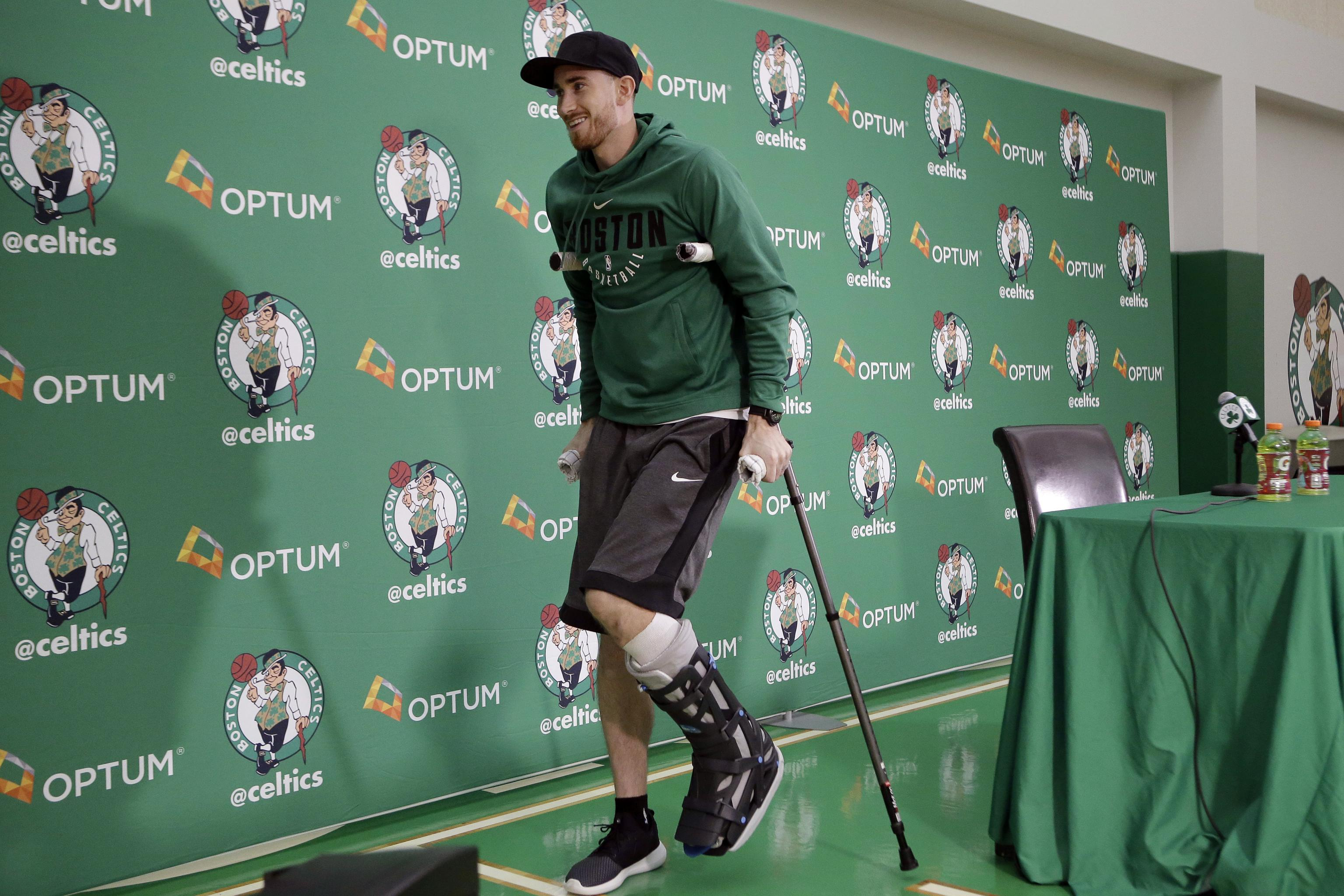 Gordon Hayward Has No Timetable For Return From Injury Per Danny Ainge Bleacher Report Latest News Videos And Highlights