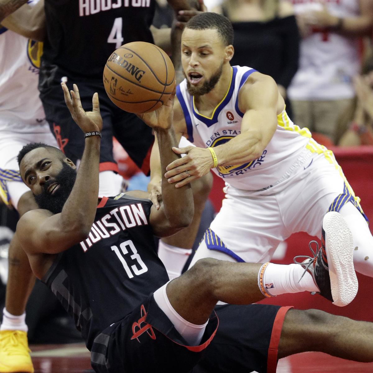James Harden And Stephen Curry: Stephen Curry, Warriors Survive James Harden, Rockets And