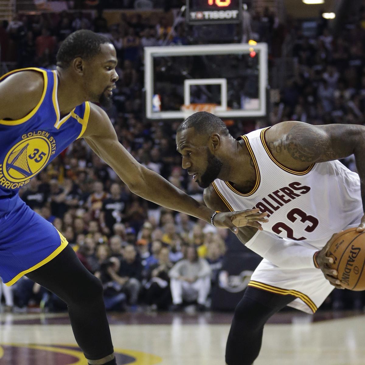 NBA Finals 2018: Warriors Vs. Cavaliers TV Schedule And