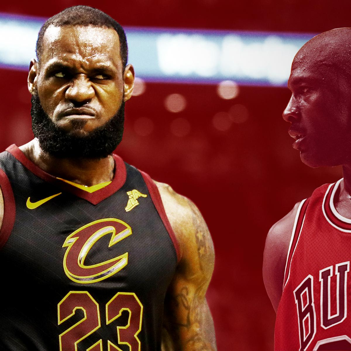 0ed6f532106 Who s the NBA s GOAT  LeBron May Have Already Answered the Question ...