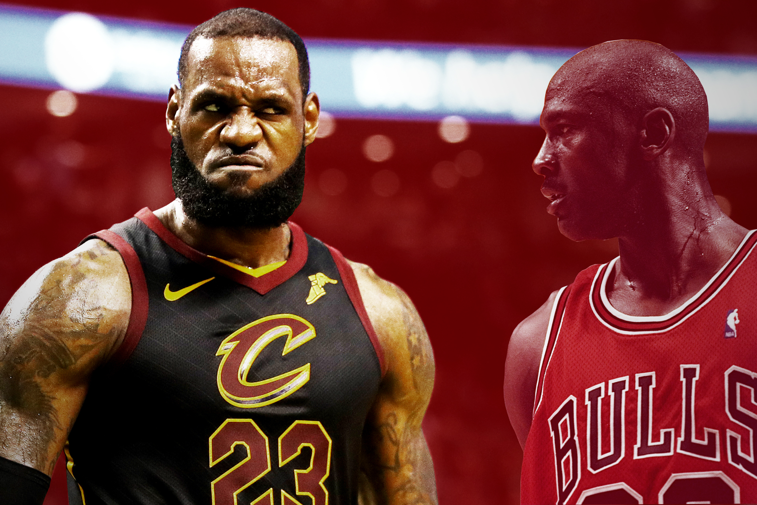 buy popular 3c8e2 7a874 Who's the NBA's GOAT? LeBron May Have Already Answered the ...