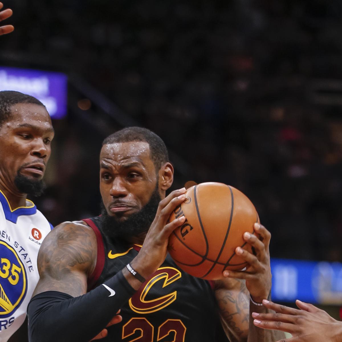 NBA Finals 2018: Cavaliers Vs. Warriors Game 1 Odds, Props