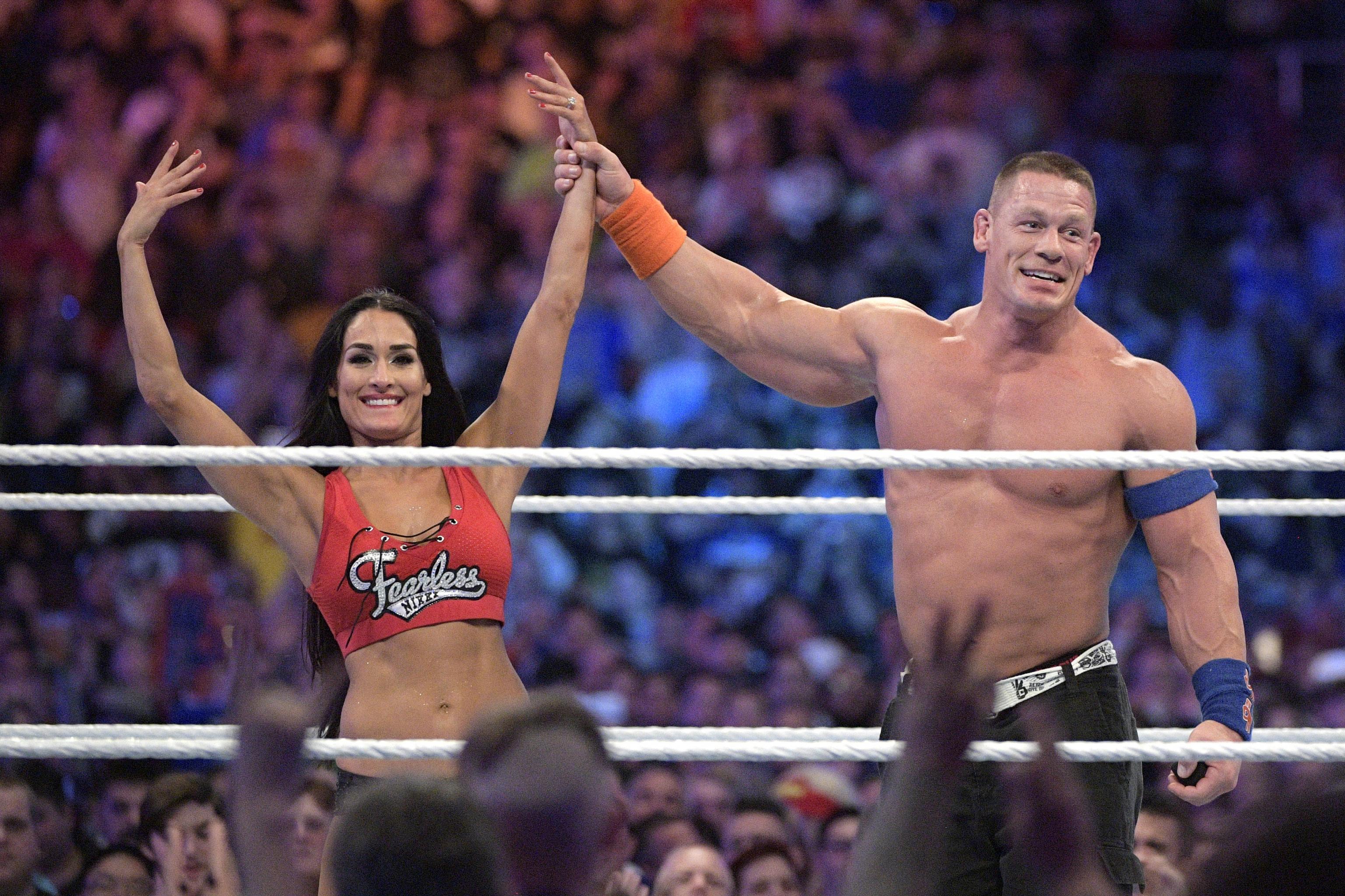 John Cena And Nikki Bella Call Off Wedding.John Cena Nikki Bella Reportedly Back Together After Ending