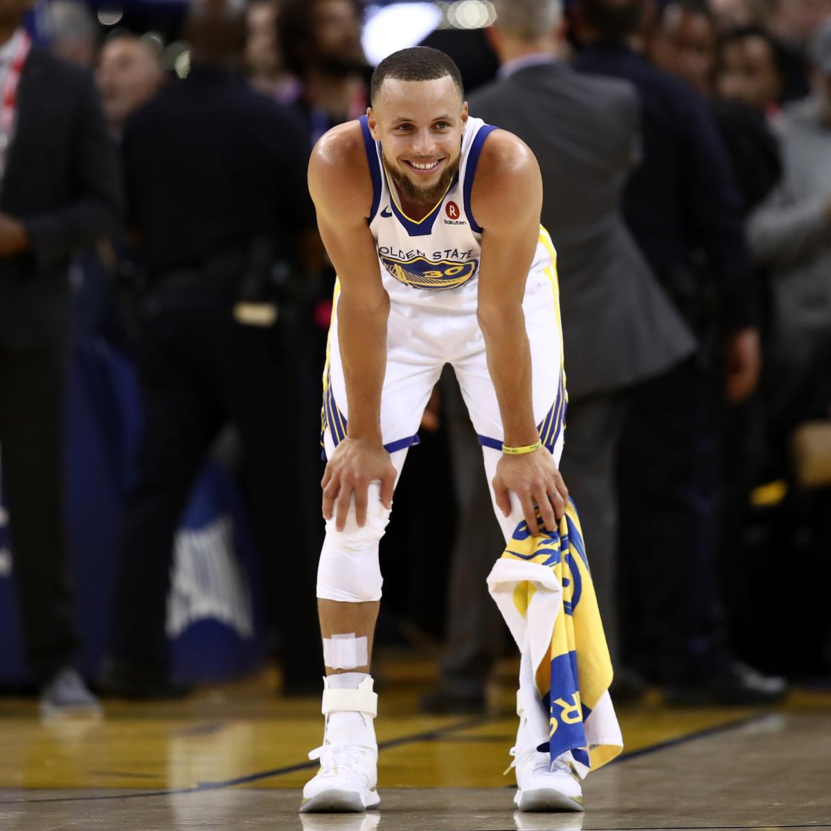 Stephen Curry's Game 1 Destroys Idea He's Not Made for NBA ...