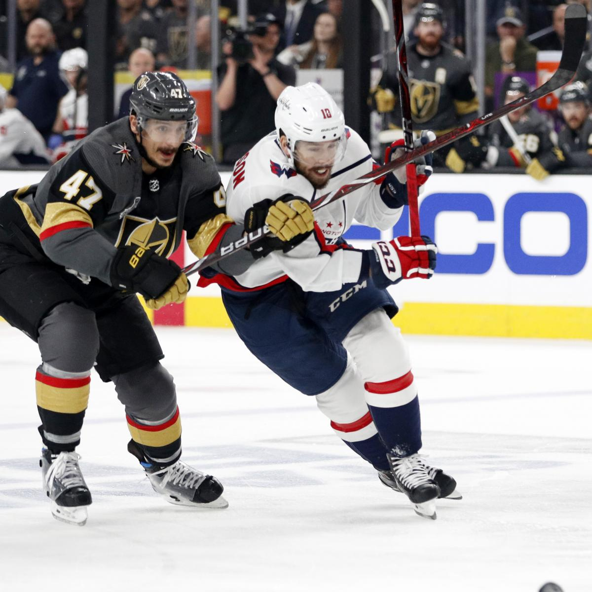 stanley cup 2018: nbcsn tv schedule, start time for golden knights