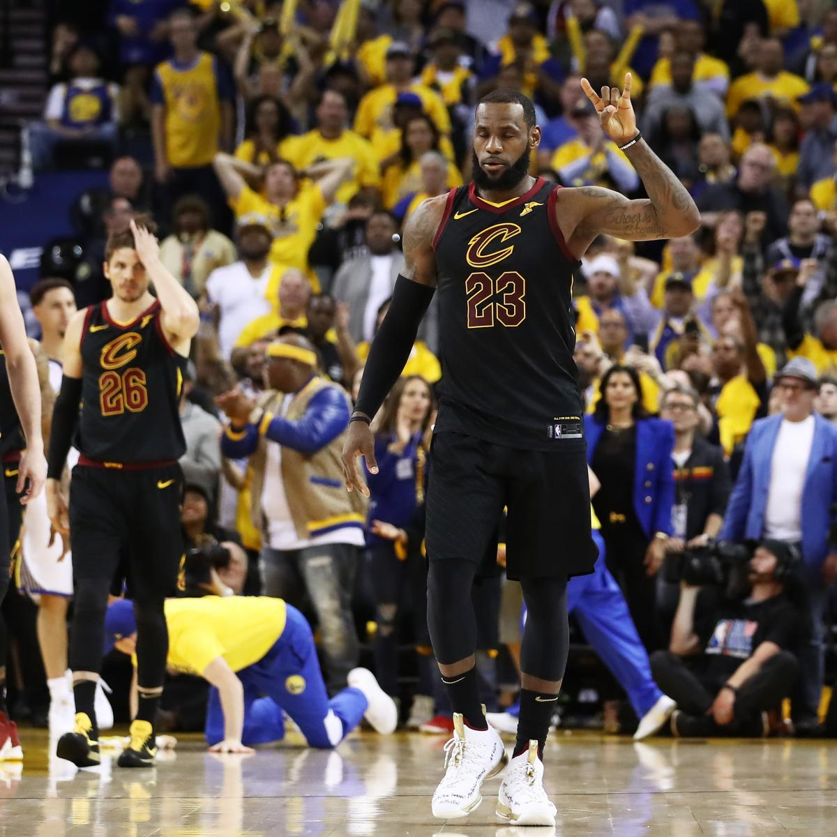 NBA Finals 2018: Cavaliers Vs. Warriors Game 2 TV Schedule