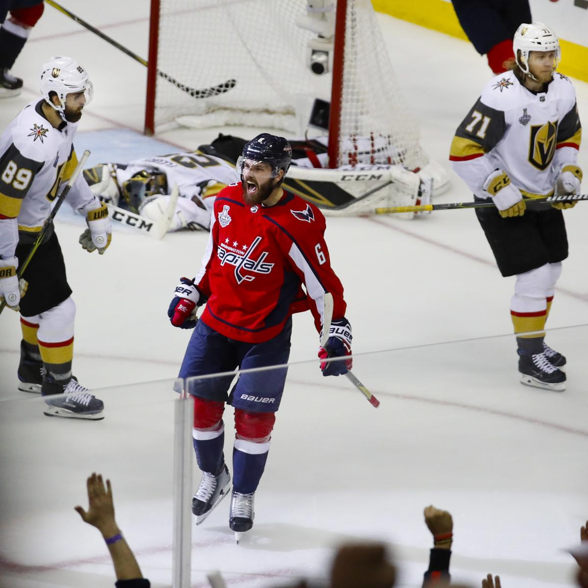 9cee9a695ff Capitals vs. Golden Knights 2018 NHL Final Game 5 Odds