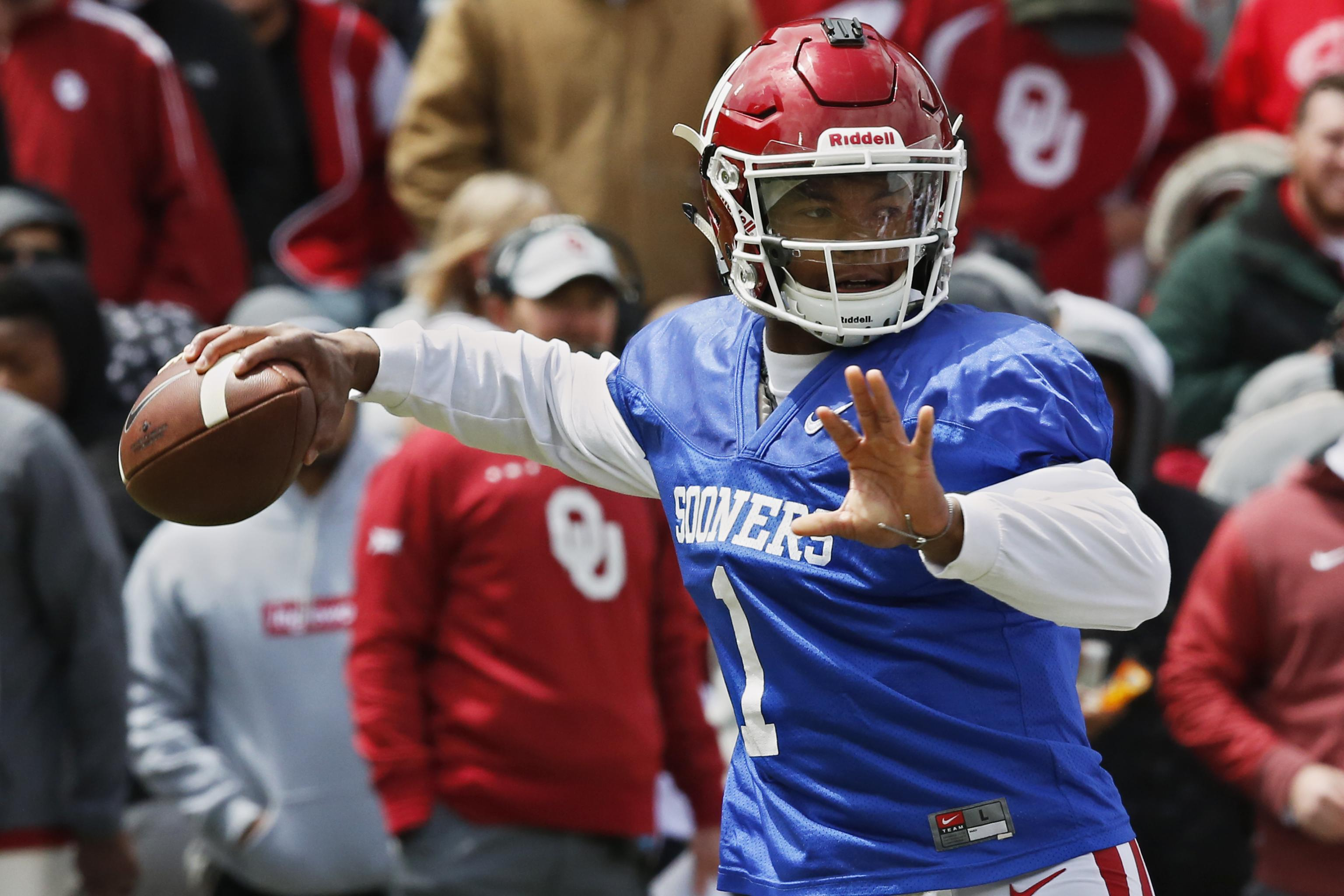 newest 30827 13f67 Kyler Murray, A's Agree to $5M Contract; Allowed to Play 1 ...