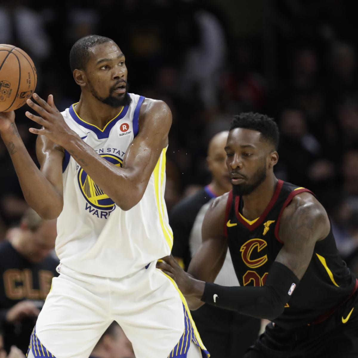 Warriors Vs. Cavaliers: Postgame Sound From Game 3 Of 2018