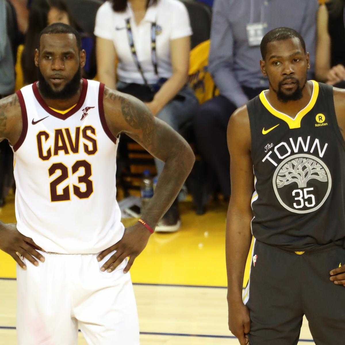 NBA Finals 2018: Warriors Vs. Cavaliers Game 4 TV Schedule