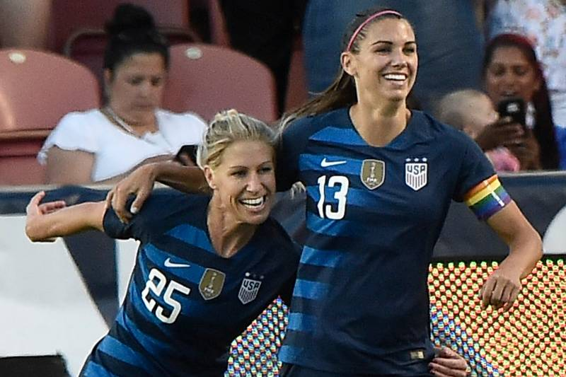 promo code d474a ee61e Alex Morgan, USA Women's Soccer Beats China 1-0 in Friendly ...