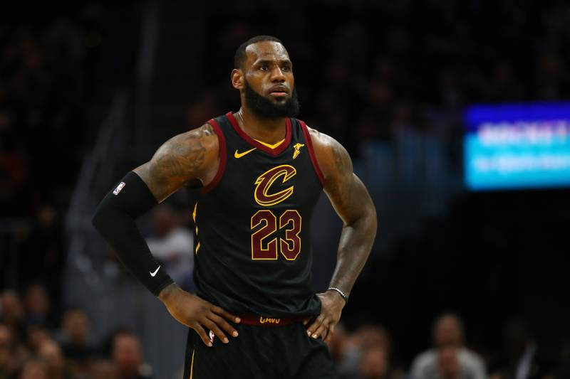 716bd617a94 LeBron James Rumors  Rockets  Not a Realistic Option  for Cavs Star ...