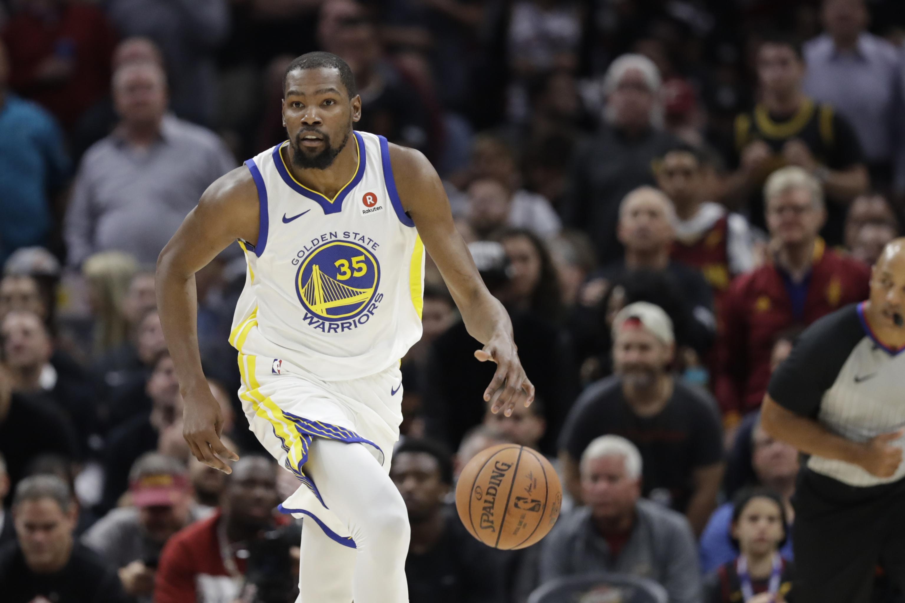 fb04ca280890 Kevin Durant Wins 2018 NBA Finals MVP After Warriors  3rd Title in 4 Years