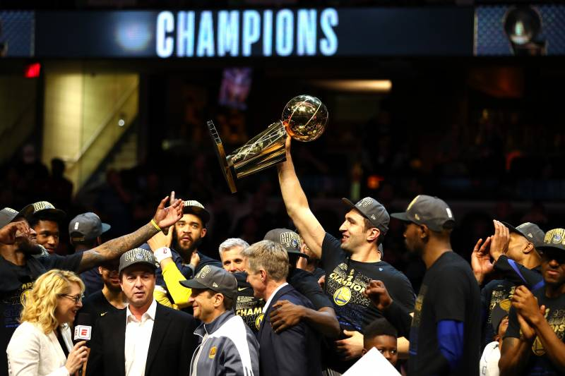 a8bc3076afa Warriors Win 2018 NBA Finals  Score
