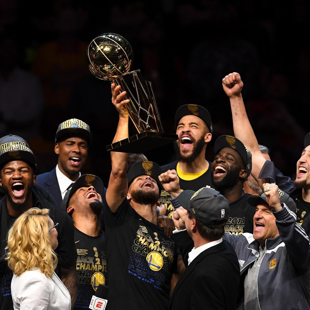 2018-19 NBA Championship Odds: Warriors, Rockets, 76ers