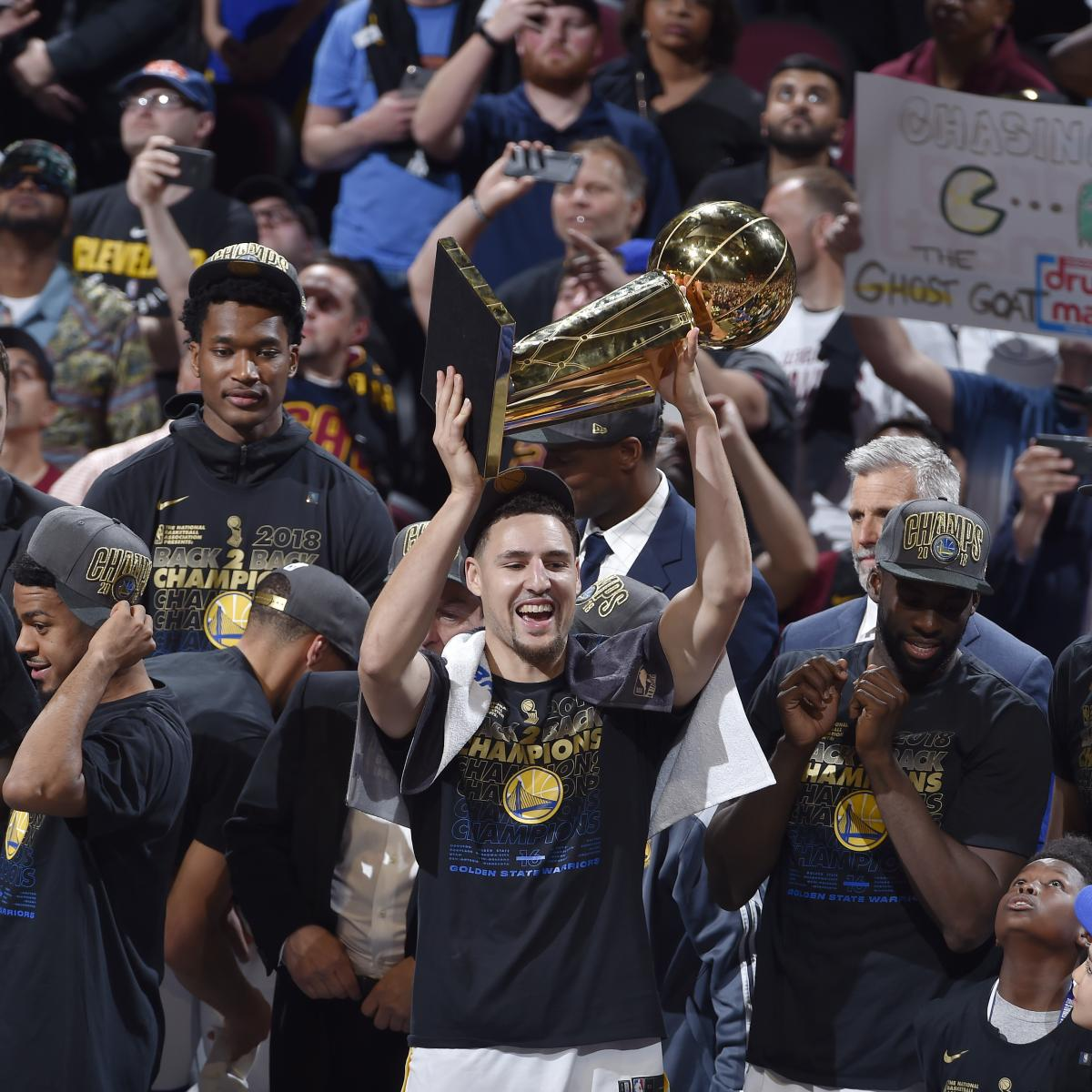 Warriors Vs. Cavaliers: 2018 Finals Stats And 2019 Title