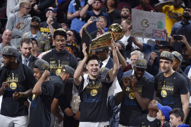 63c85472a406 Warriors vs. Cavaliers  2018 Finals Stats and 2019 Title Odds ...