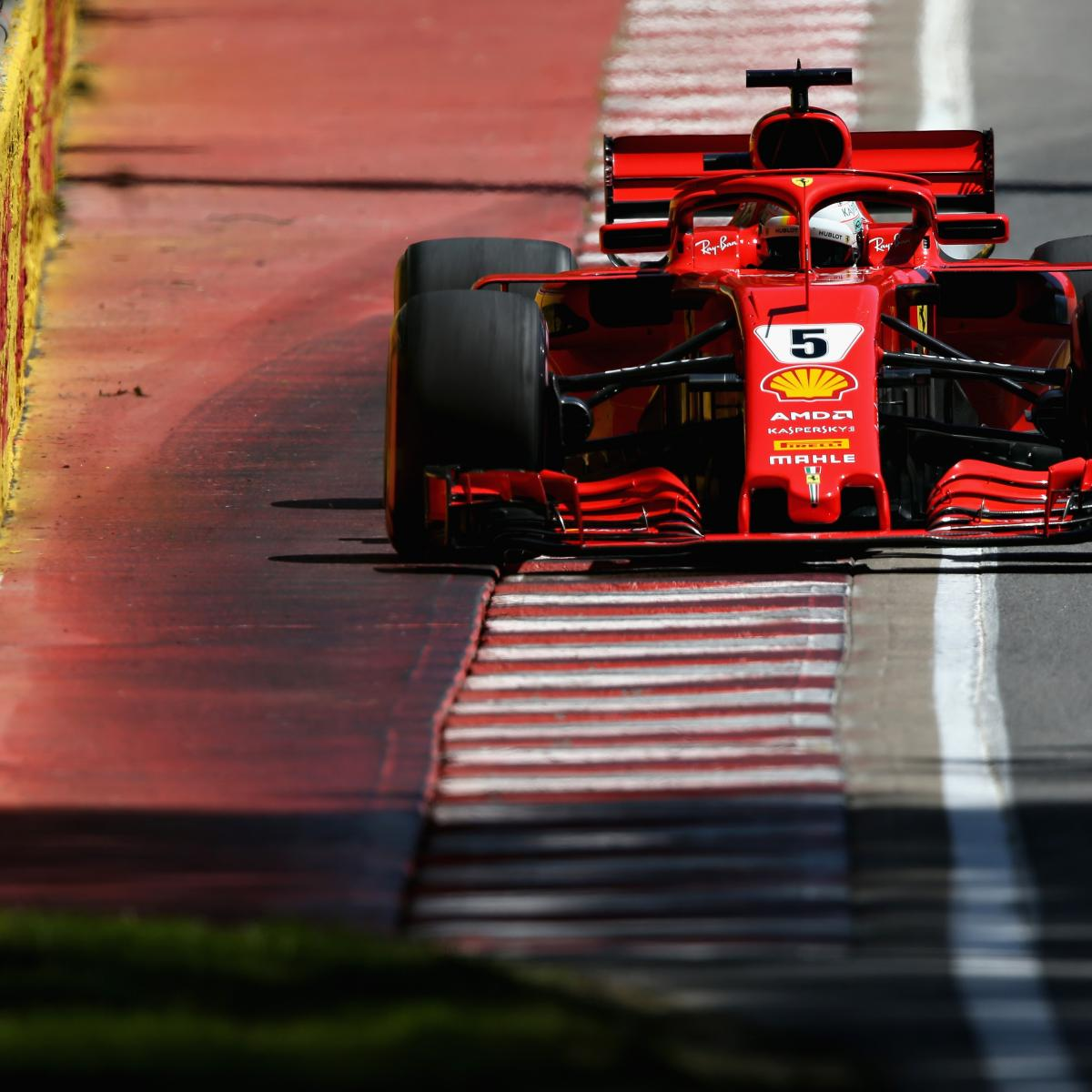 Canadian F1 Grand Prix 2018 Qualifying: Saturday's Results