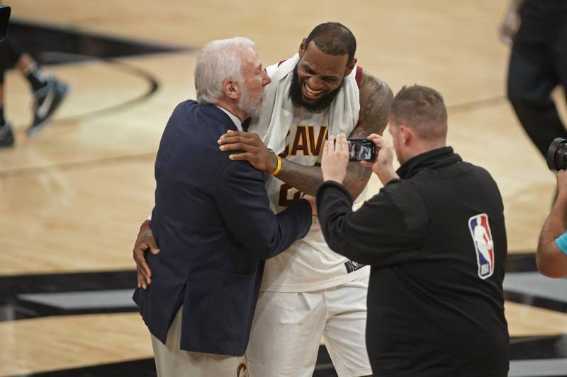 9842bc58c5f Marc Stein  Gregg Popovich Likely to Force Way into LeBron James Meeting