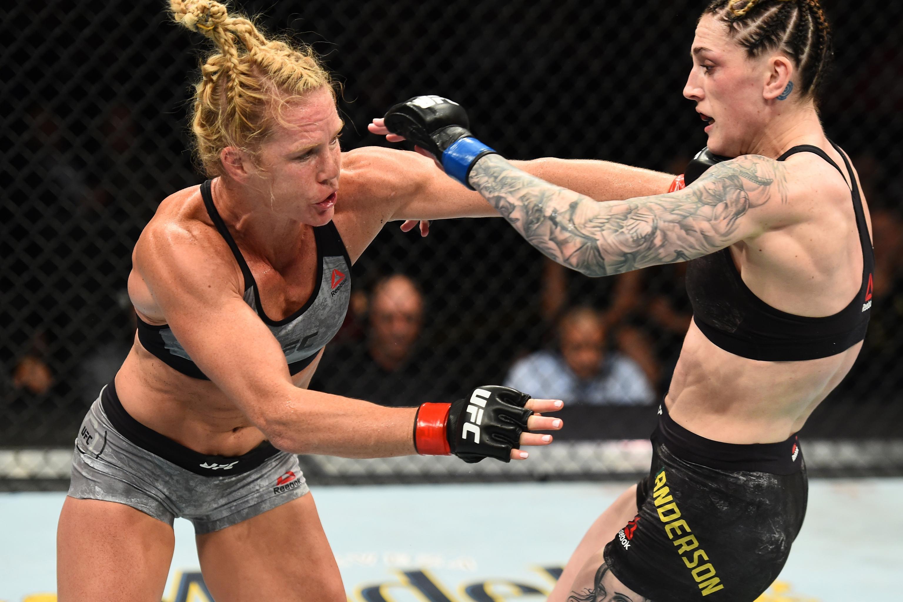 Megan Anderson vs. Holly Holm