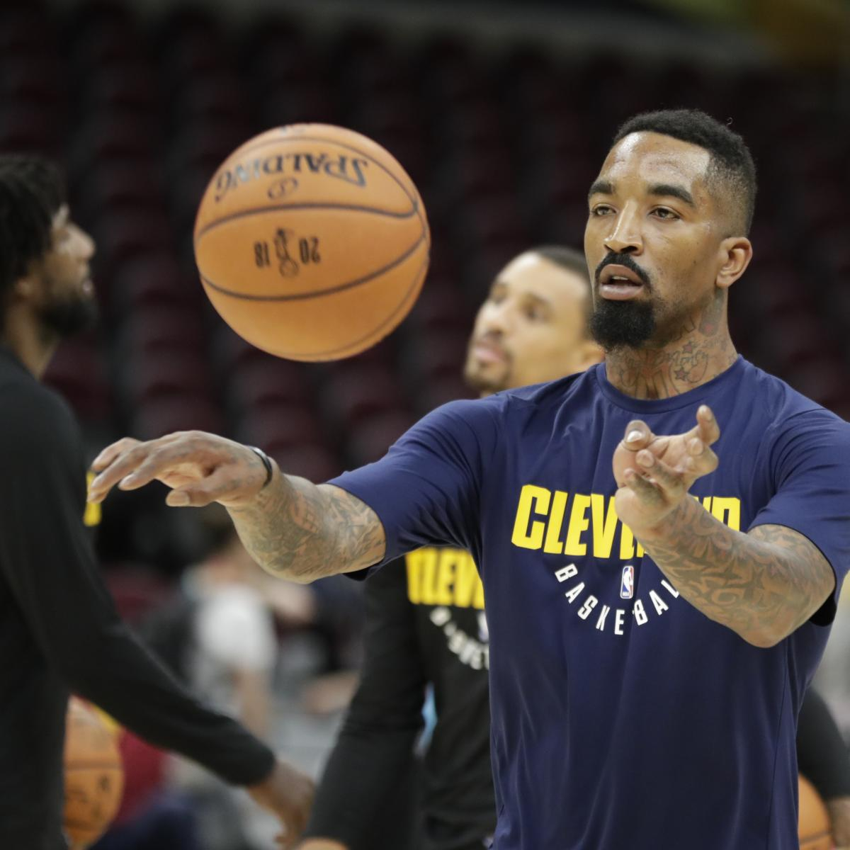 NBA Finals 2018: JR Smith And The Wildest Moments From
