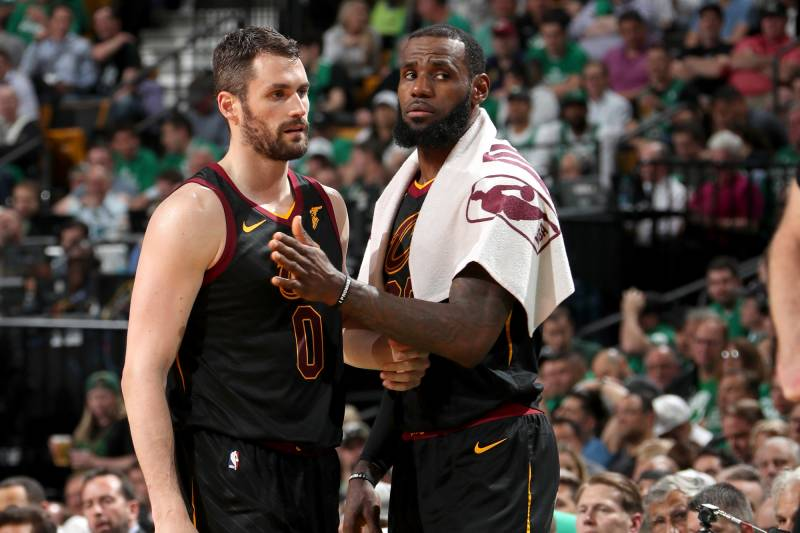 e36bc4a66d4 Kevin Love Wants to Stay with Cavaliers