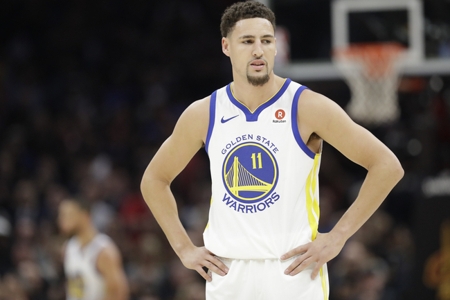 2404041bff6 Klay Thompson s stellar play is one of the reasons the Warriors have a chance  to make