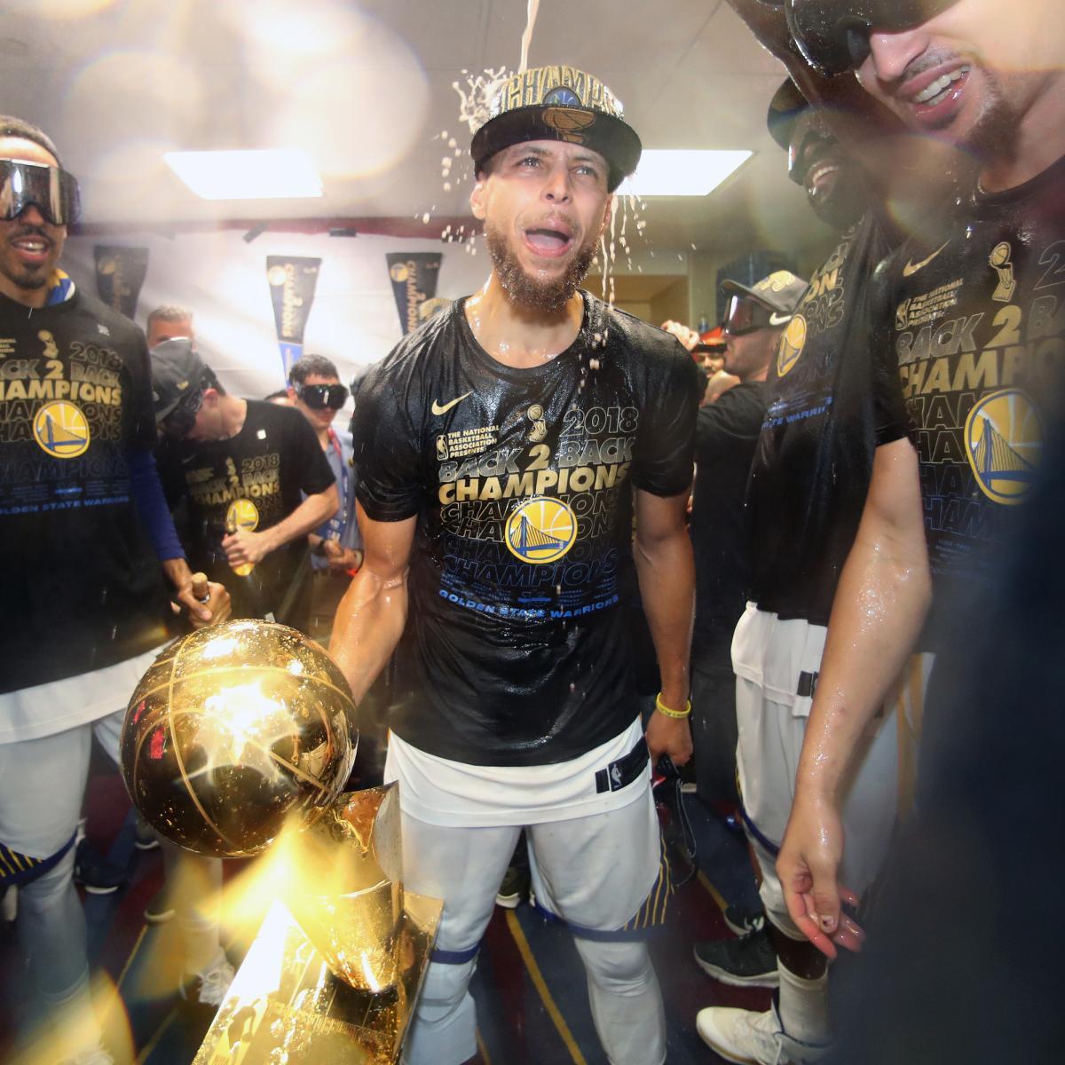 2019 NBA Championship Odds: Warriors Betting Favorites