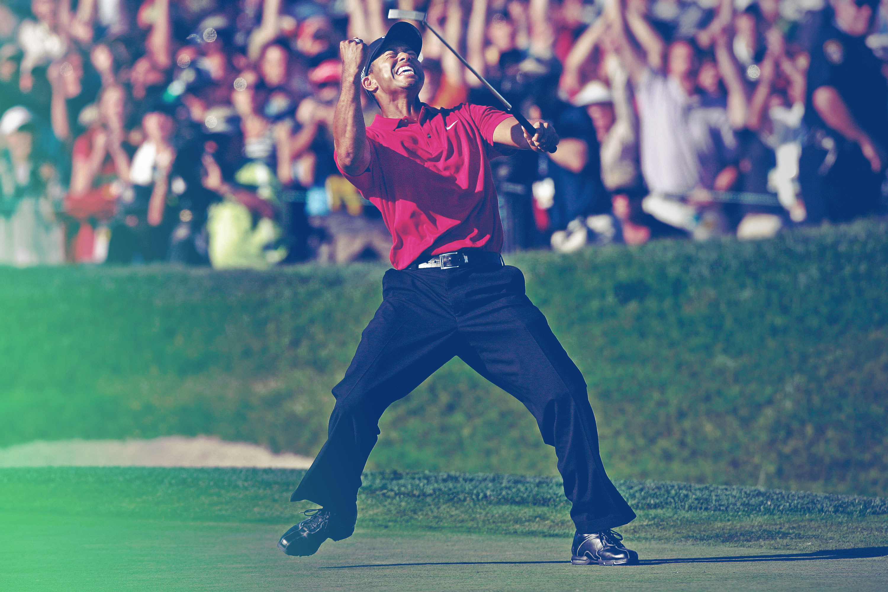 Tiger's Last Stand: Woods' Writhing, Painful 2008 US Open ...