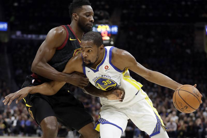 713275517c5 Kevin Durant earned his second consecutive NBA Finals MVP against the  Cavaliers.