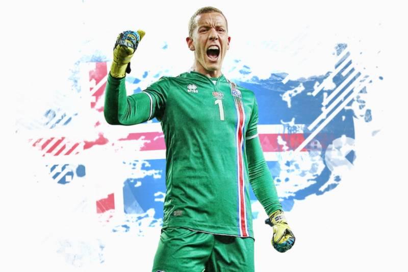 1ded46f6940 Hannes Halldorsson  Goalkeeper