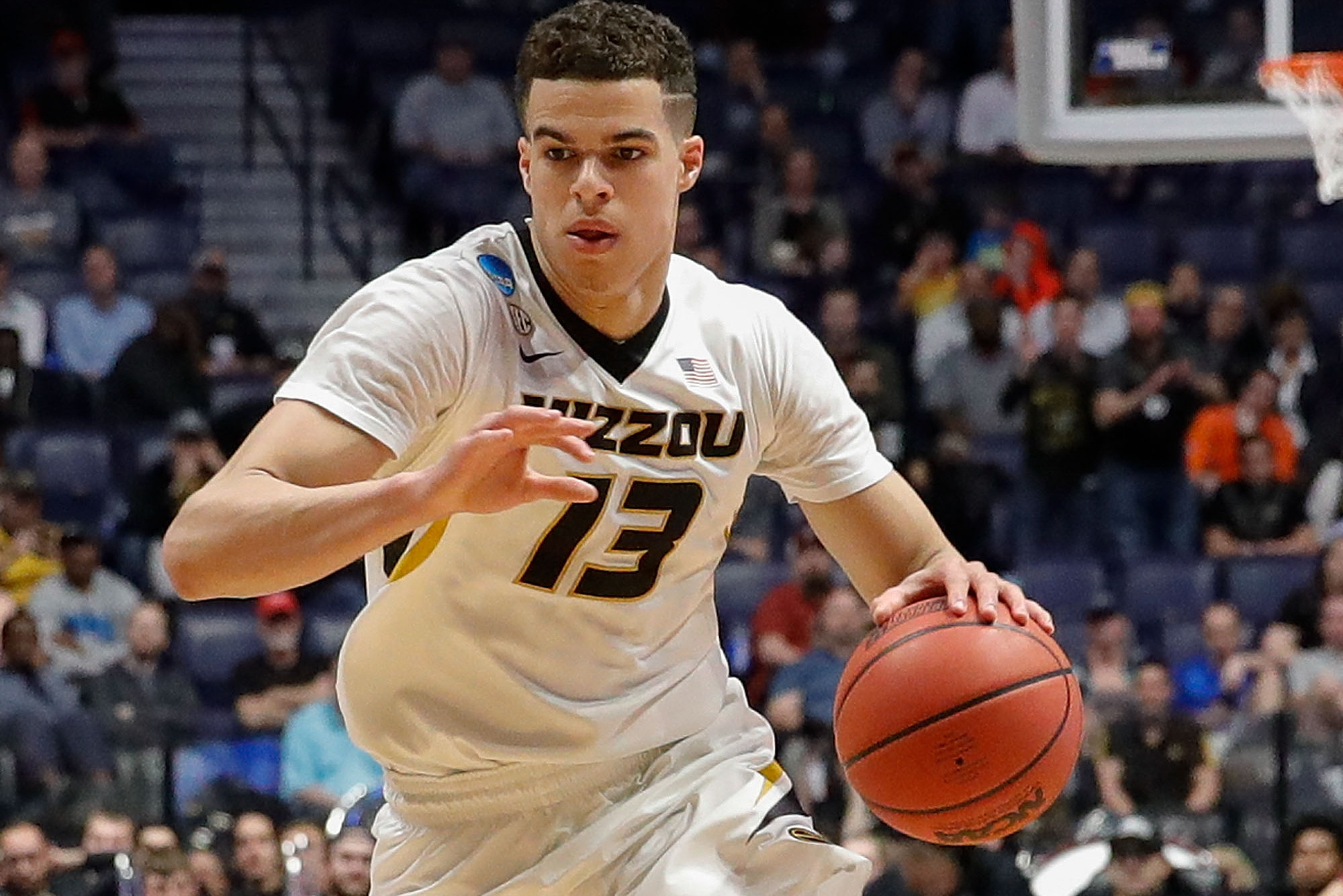 e387d3f8aaa0 Knicks Trade Rumors  Teams Called NY About Moving Up to Draft Michael  Porter Jr.