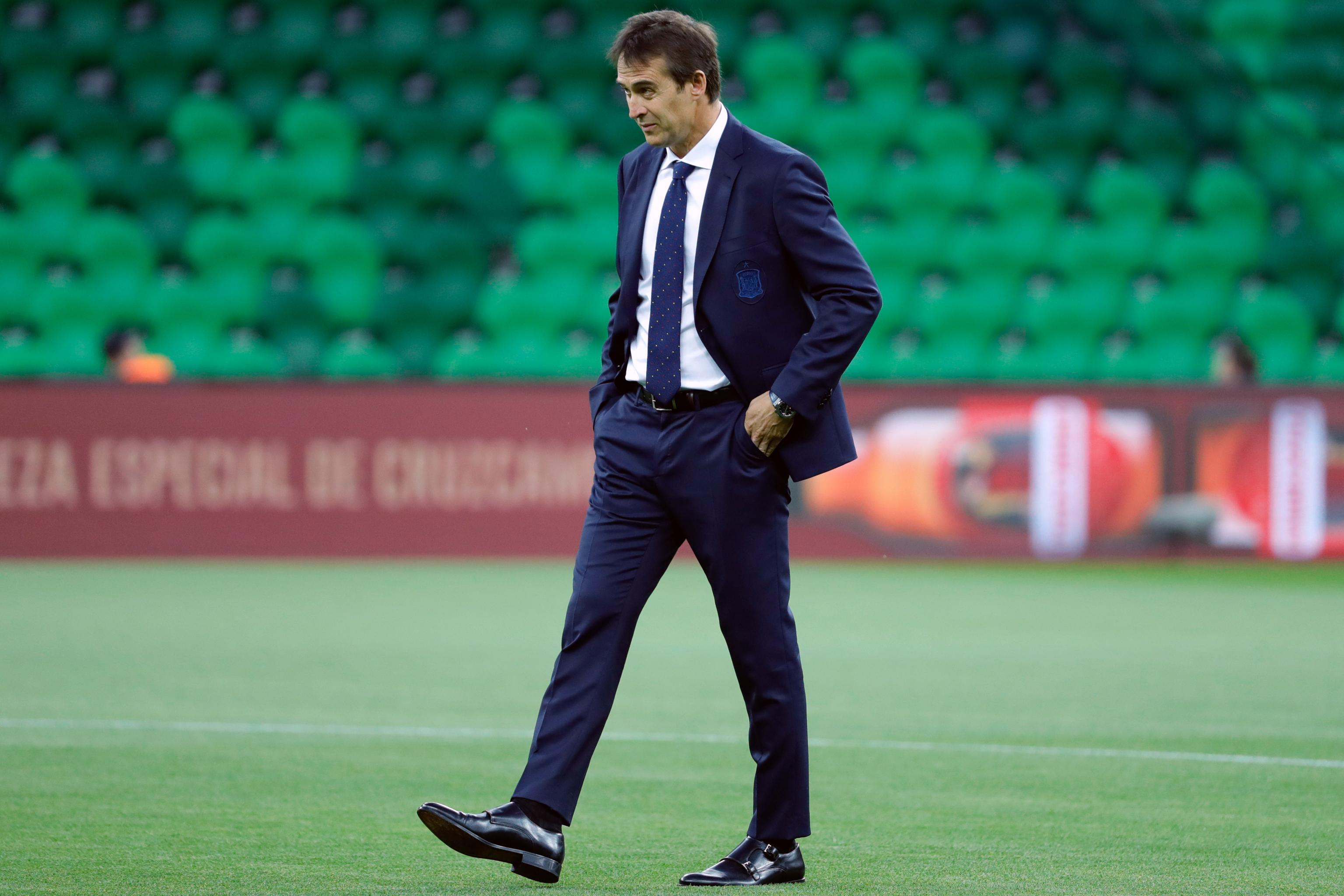 Spain Sack Julen Lopetegui Ahead of World Cup After Real Madrid ...
