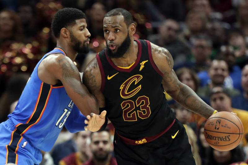 62407cd8e17 Paul George Says He Likes Playing with LeBron James in TMZ Interview ...