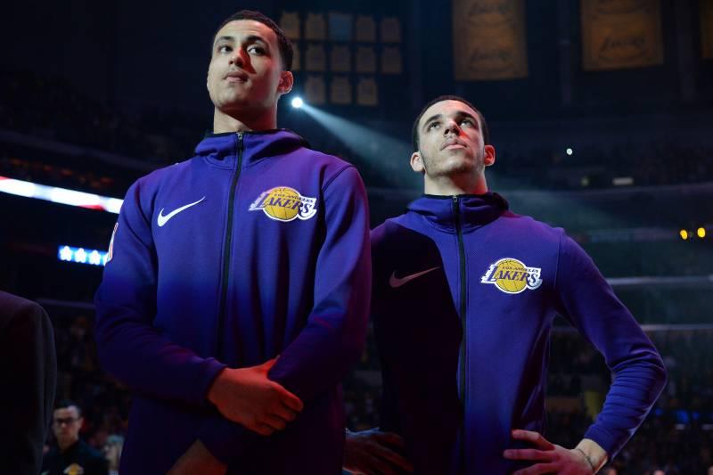 Lakers Rumors: Lonzo Ball, Kyle Kuzma Asked to Tone Down