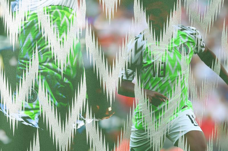 ef44bdd4e58 Nigeria's Dope Jerseys Are in Demand and the Talk of the World Cup ...