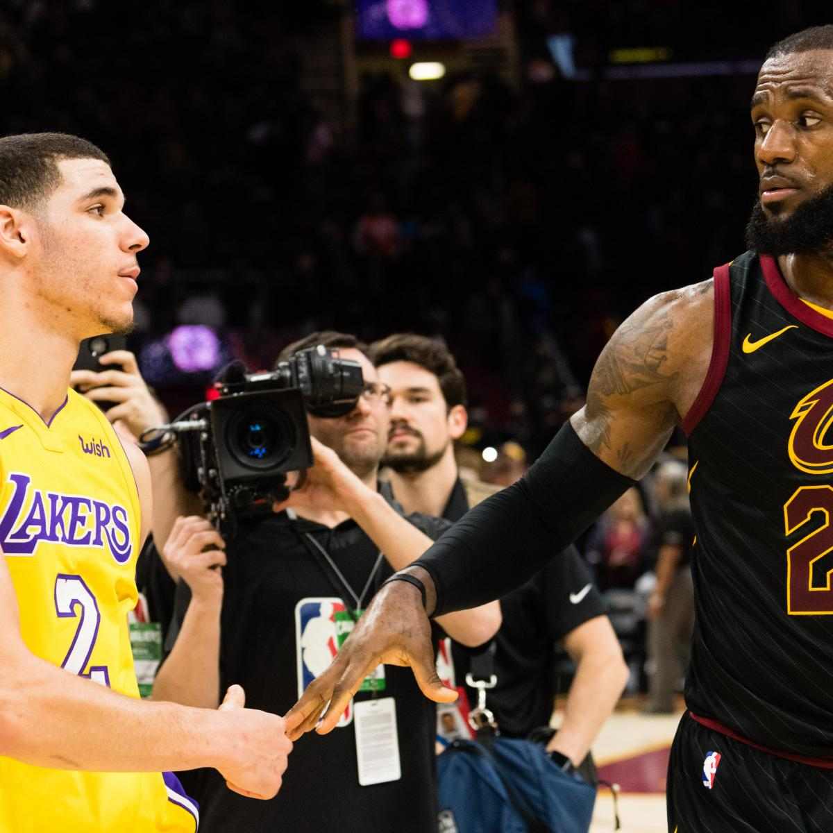 LeBron James to Lakers Trade Rumors: Lonzo Ball Is 'The One Constant' ...