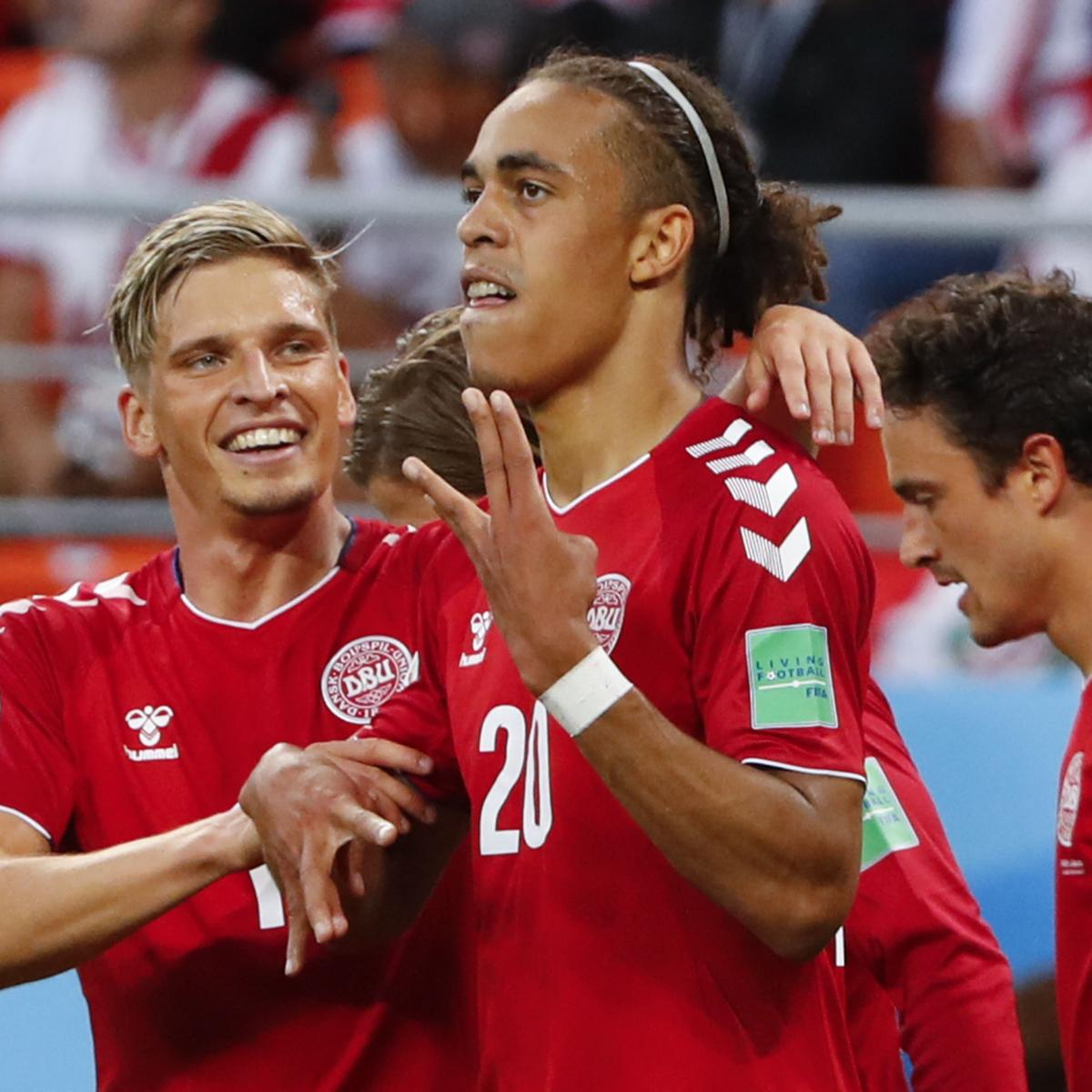 the best attitude 5ad9a bcdb6 Kasper Schmeichel, Denmark Hold off Peru for 2018 World Cup ...