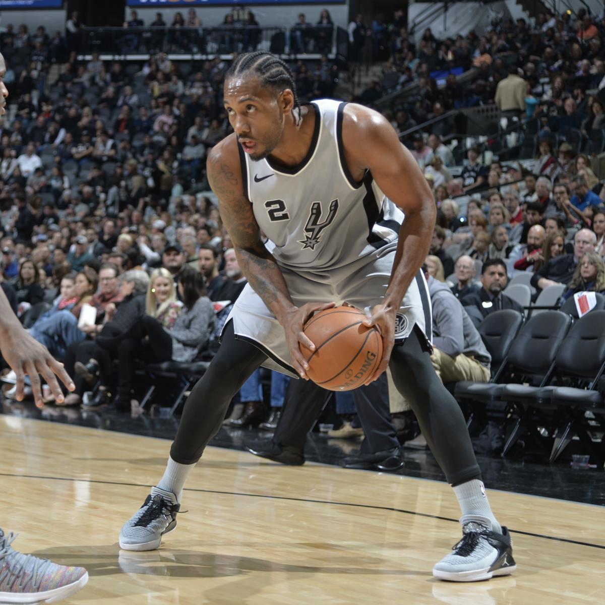 Kawhi Leonard Trade Rumors: Suns Won't Deal Top Pick in NBA Draft for Spurs Star