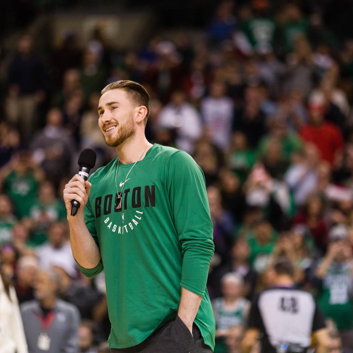 Celtics' Gordon Hayward on Track to Be 'Fully Cleared' in August from Leg Injury