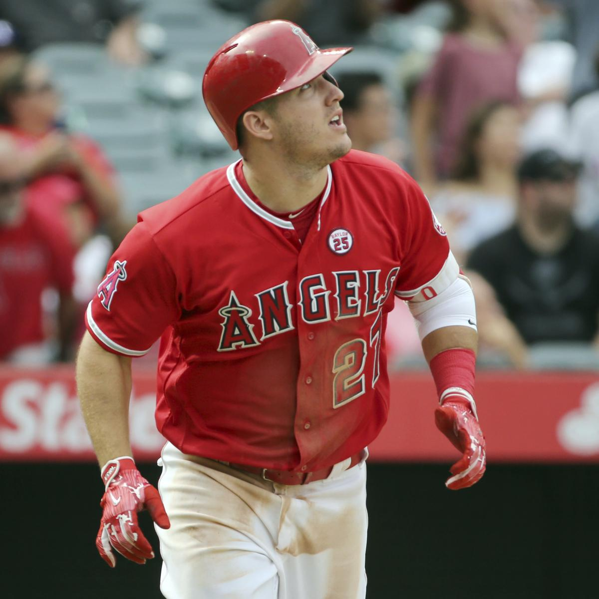Mike Trout Becoming Annual 50-Home Run Threat Would End