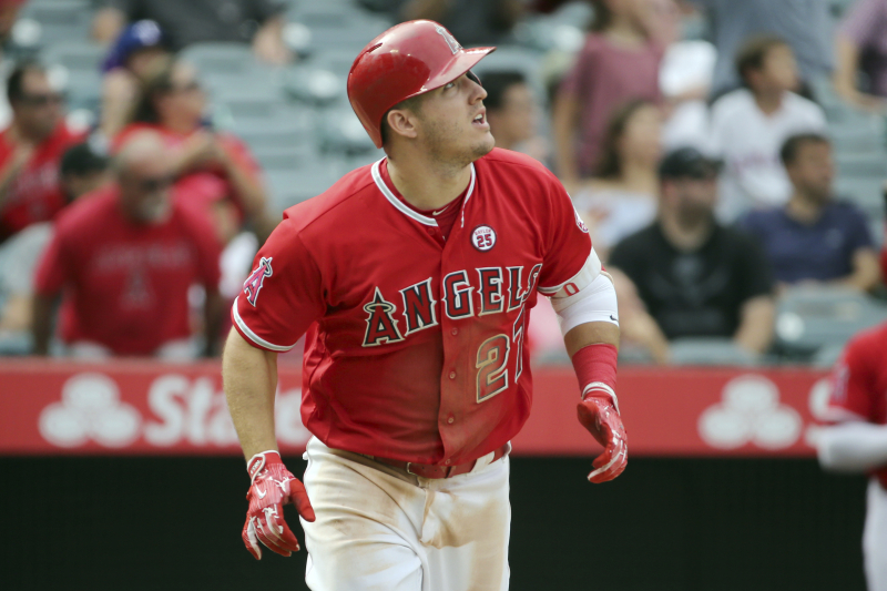Mike Trout Becoming Annual 50-Home Run Threat Would End the MLB G.O.A.T. Debate