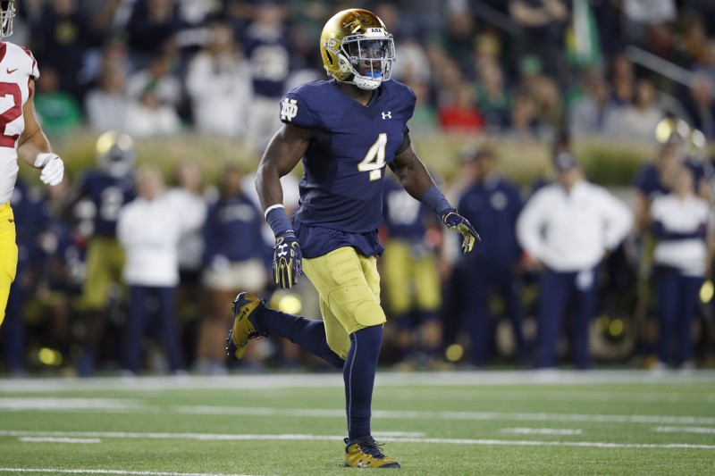 Notre Dame Star Te'von Coney Sentenced to Probation for Marijuana Possession