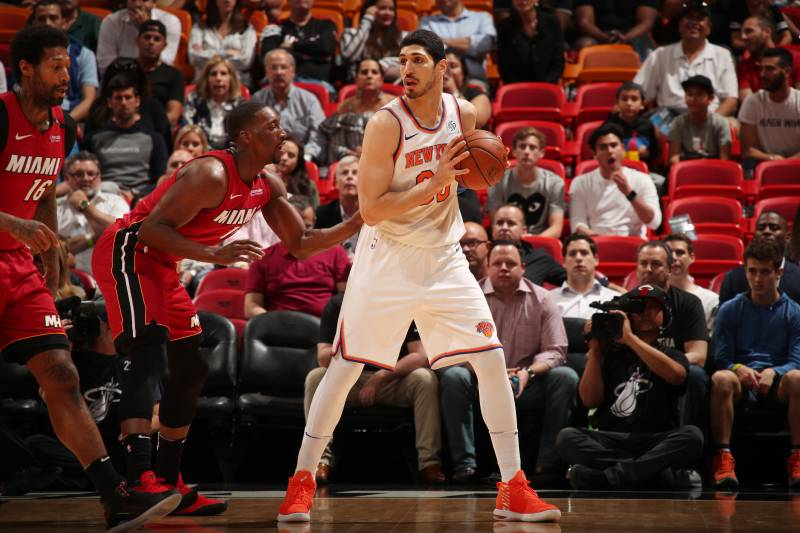 7299ef781f2 Knicks News: Enes Kanter Seeks Long-Term Contract to 'Feel More ...