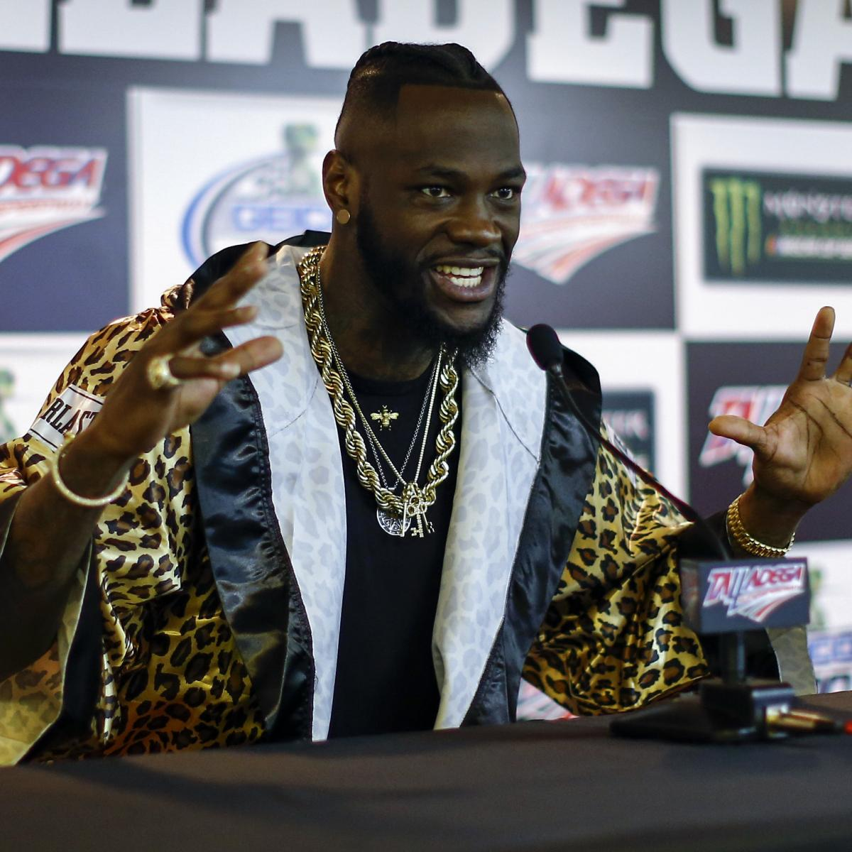 Deontay Wilder Vs. Anthony Joshua Fight Could Happen In