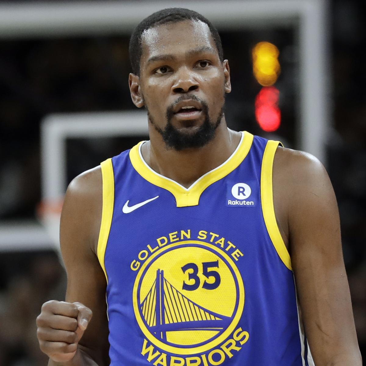 Warriors Come Out To Play Bleacher Report: Adam Silver Calls Kevin Durant Joining Warriors An