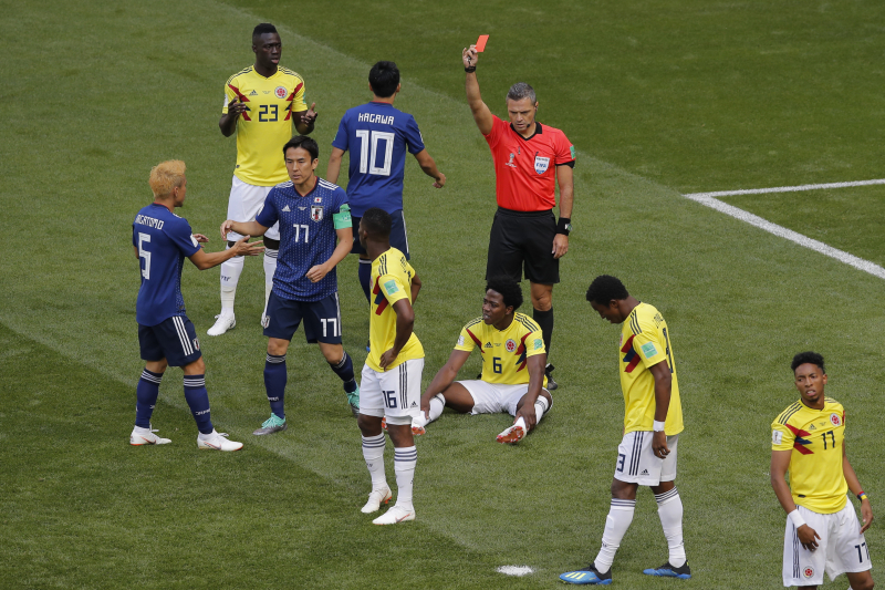 Carlos Sanchez Receives Death Threats After Red Card at 2018 World Cup